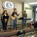 Mixed campus ministry worship team for this mornings on campus worship at the BSM! http://t.co/9JFhGTsr4u