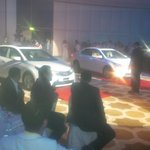 "MT ""@DohaTweetups: The @toyotaqatar #Corolla Unveiled! #qatar #2014 #Doha http://t.co/qqrqZl5az6"" it got the red carpet treatment as well."