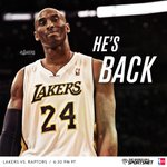 RT @Lakers: In case you hadn't heard... http://t.co/y2KhPPdYdv