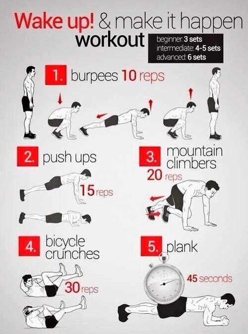 Guy Skill: Learn how to work out. Here's a simple one to get you started.  A killer body turns girls on. http://t.co/o3ywetXezx