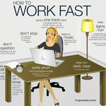 How to work fast. http://t.co/S1VN3rKWd8