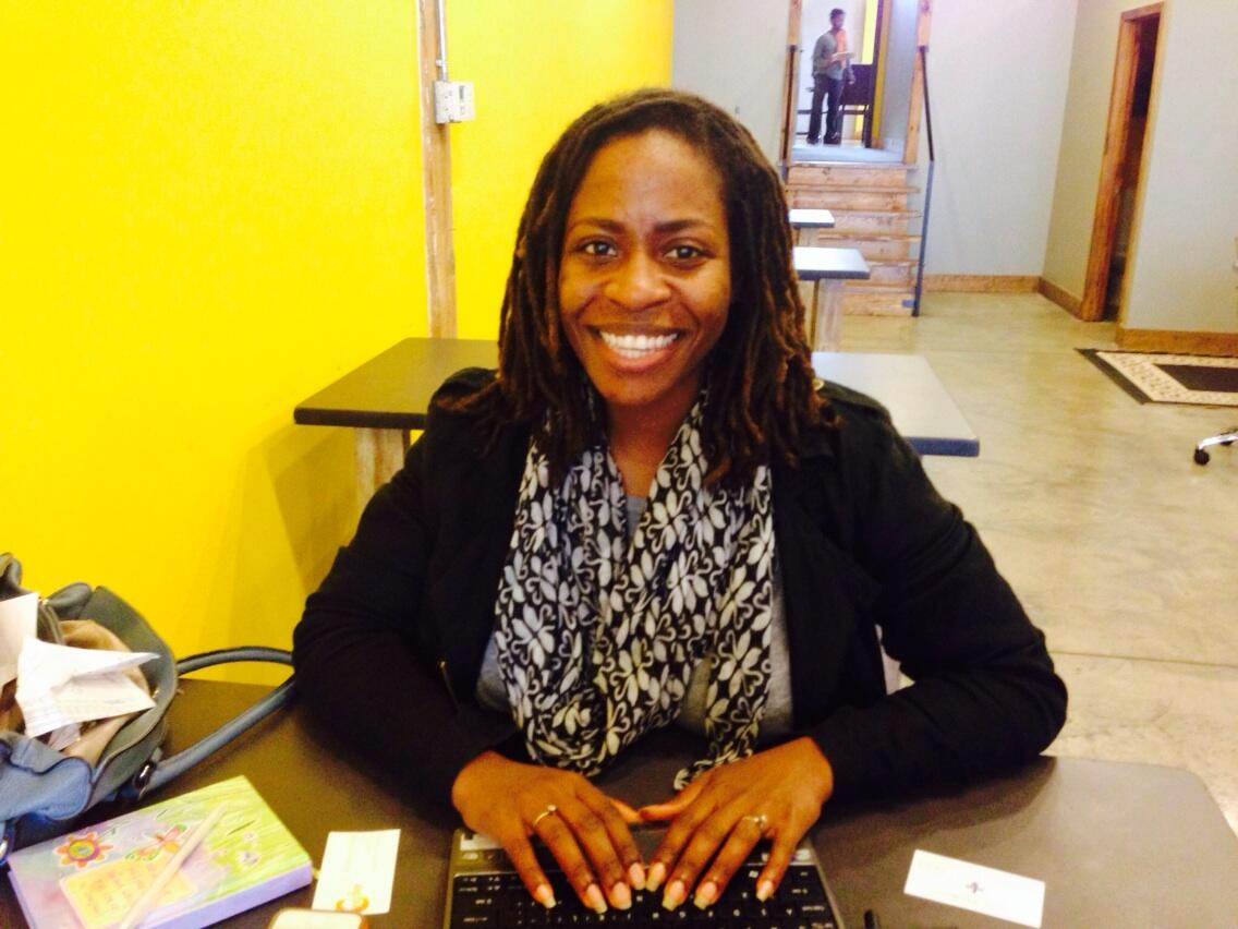 RT @xianamoy: Another fndr @KollectiveSouth working on her #startup @stageHuddle , @WandaExplores! #NPRBlacksinTech http://t.co/0MFLzb8Mec