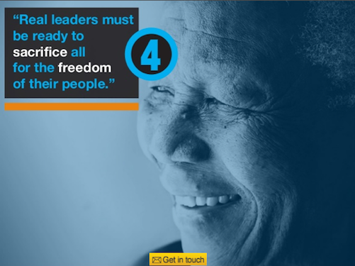 SlideShare (@SlideShare): 5 lessons we can learn Nelson Mandela, via @bigfishpresco: http://t.co/LOfsnXAoGX #RIPNelsonMandela http://t.co/jrzWEenmvZ