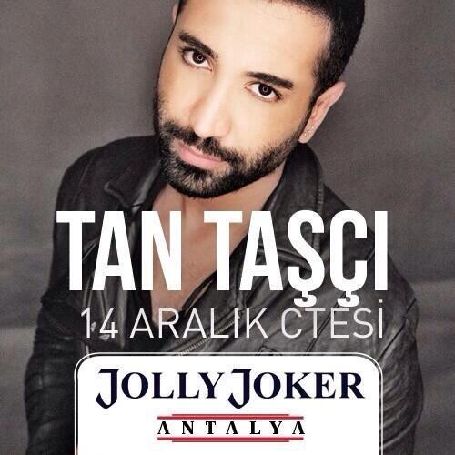 Tan Gazetesi (@TanGazetesi): 14 aralık cumartesi.  Jolly joker Antalya. http://t.co/y4nNMPAjsG