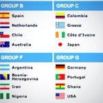 RT @UtdIndonesia: Here we go! Final draw of World Cup 2014 group stage #Brazil2014 http://t.co/DTQolHAHzI
