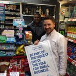 Heres @chrishenryman out and about in #hove promoting @SmallBizSatUK  - which is tomorrow! @bhlabour http://t.co/ew67ejlXhJ