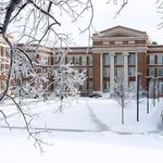 I think the University of Cincinnati is beautiful under a blanket of fresh snow. #justsayin http://t.co/L7Ndzfptzd