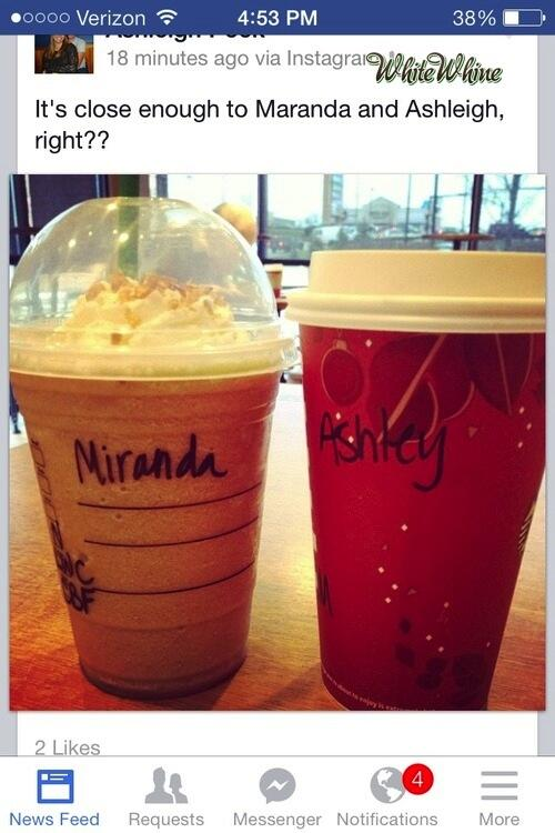 I'm sorry. I didnt realize you spell your name the stupid way. #WhiteWhine #FirstWorldProblems http://t.co/0YsfAkVD5e http://t.co/c2UfY7ULyF