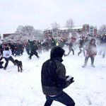 The chaos. The madness. The anarchy! #SnowBrawl2013 #GoDucks #WinTheDay http://t.co/nEOW1Oo7Mg