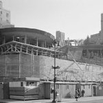 Frank Lloyd Wrights Guggenheim Museum Under Construction 1957 | #NYmuseums #nyc #ny http://t.co/8rQuQTpOrb