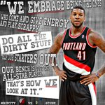 RT @trailblazers: Blazers Bench #NBABallot http://t.co/ciZaSoqGTz