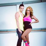 Me #andrewchristian with @itsshangela check us out in the #Yoga for Bros video. #gay #underwear #sexyboys http://t.co/jHv0b8Wauk