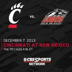 Reminder: MBB is at New Mexico tomorrow at 4:00pm EST. Watch on @CBSSportsNet or listen on @700wlw http://t.co/bn3360qDUq