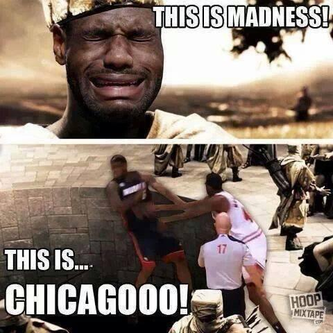 @NBAMemeTeam: Bulls vs Heat One of the best NBA memes of 2013 deserves another tweet after last night's game