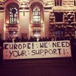 Europe! We Need Your Support! #euromaidan #євромайдан http://t.co/LipFxO5SPd