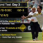 England face a second humiliating defeat and Australia secure a 530-run lead. http://t.co/JE2sDL9D2G #ashes http://t.co/75N5bkXPJE