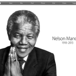 #Apple pays tribute to #Mandela. #RestInPeace http://t.co/QfLdhRasyp http://t.co/NMMCVNZhtY
