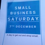 Its the big day to shop small @SmallBizSatUK @WhitchurchV Christmas market at 9 & offers in over 40 shops http://t.co/el06GSl9uJ