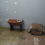 At Robben Island, #Mandela was confined to a small cell, used the floor as his bed and a bucket as his toilet http://t.co/yZvvf0pm9L