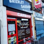 And now for my #SmallBusinessSaturday £2.95 breakfast @BrierleySausage http://t.co/Wp8VuAJJkT