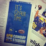 GAMEDAY: Rise and Shine Cowboy Country! Its Geaux Time! @NCAA_FCS http://t.co/Jx2ZGxxKdD