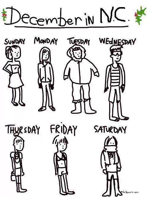 Yup, this about sums up our weather here in #NC. =) http://t.co/RvSDxYt6HY
