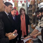 Labour Leader @Ed_Miliband shops at Good Taste in Crystal Palace, South London highlighting @SmallBizSatUK http://t.co/LbfofEyunO
