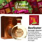 Todays Advent Calendar prize is a bottle of @BeefeaterLondons excellent Burroughs Reserve - http://t.co/Q0QQRMBOJP http://t.co/eqxUBue6cb