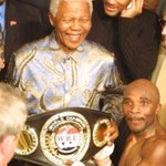 RT @Abramjee: Two giants #RIP #Madiba & #BabyJake What a photo!! http://t.co/LTTMZhU4f6