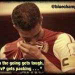 "RT @bluechampion: ""When the going gets tough, RvP gets packing"". #mufc #cfc #afc http://t.co/m3CAXlPLWQ"