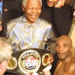 "RT @Moni_R: Condolences the friends and family of Jacob ""Baby Jake"" Matlala, here he is with Nelson Mandela #RIP http://t.co/rwJGrbOKRV"