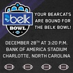 ICYMI: the #Bearcats are @belkbowl bound for the second year in a row. All info here: http://t.co/EJVR3TZVDe http://t.co/E9yyT7NVPv