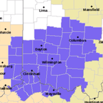 Winter Weather Advisory issued for #Cincywx. 6am Sun to 4am Mon. Snow (1-2″) + sleet/freezing rain possible. #Bengals http://t.co/3qvz41pnDV
