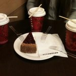 RT @MsGalleonSand: After bug day full of stress #coffee #cake #Starbucks with @Anajfo @Caroline186924 http://t.co/FdMNWNDGZt