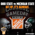 """@CollegeGameDay: From a chilly Indianapolis we are LIVE from the Big Ten Championship! #GetUp4GameDay http://t.co/3GRhDmWYi2"" TOO HYPED"