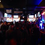 A packed house at The Basement for the Young Alumni Chapter @UCFALUMNI! #UCFvsSMU #ChargeOn http://t.co/2Mrk0k6C5M