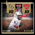 RT @UCFKnights: #BortlesKombat with the 1-yard sneak to make it 10-10! #UCFvsSMU #ChargeON http://t.co/xwvwD0sJp6