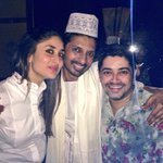 Backstage with Kareena & @ashesinwind69 at his play Unrao at Prithvi!