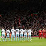 RT @LFCphoto: Giving our respects. Anfield celebrates the life of Nelson Mandela today. #LFC #WHUFC http://t.co/LPfz8jQtVQ