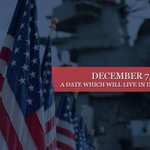 Today, we remember the deadly attack on Pearl Harbor and honor those who lost their lives on that fateful day. http://t.co/4QZ30FPhXS