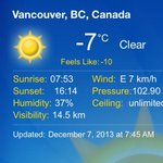 Way to cold for #vancouver to be doing yard stuff! feels like -10 more like feels like -100! #toocold http://t.co/wADWsDYjWU