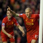 RT @LFC: PHOTO: Martin Skrtel is claiming that one! http://t.co/rjkWEj15Xr