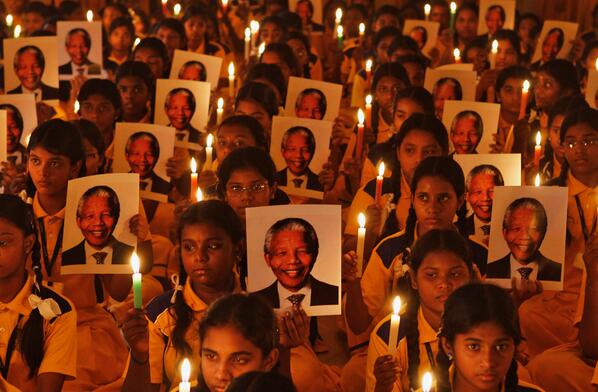 Mourning Nelson Mandela: great photos of memorials & of the great man http://t.co/t4HeLruCHn #ripnelsonmandela http://t.co/9AMcFtjUUx