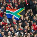 Liverpool fans today at Anfield showing their respects to Nelson Mandela. #LFC #WHUFC #YNWA http://t.co/qkoqpBnW5i