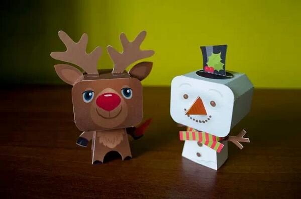 RT @AndrewFos: 5 little festive foldees, including these 2 I designed are available at @BedPop on Bedford high street at the mo. http://t.co/mHSp7ohuBf