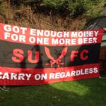 RT @TomMicallef: New flag. #sufc #UTB http://t.co/SmA1ArS6OI