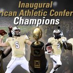 Congratulations @ucf_FOOTBALL on their 11-1 season and overall American Athletic Conference Championship http://t.co/TP7Cuqbtpb