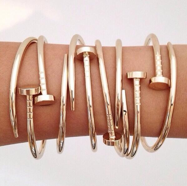 I need. RT @PeenyWallie: Gold nail bangle http://t.co/IrVJeiGaD0 http://t.co/XAUEqvpCVS