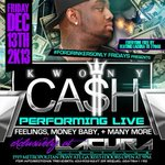 This Friday @ Club Lacura Kwony Cash Live http://t.co/HlZXtOU1cf  x6