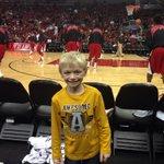 RT @Dave1037TheGame: Sam at the @Cajunbasketball game at the YUM Center. http://t.co/8PrkLWu0k3